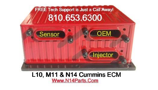 Cummins L10  M11  U0026 N14 Ecm Troubleshooting Tech Videos