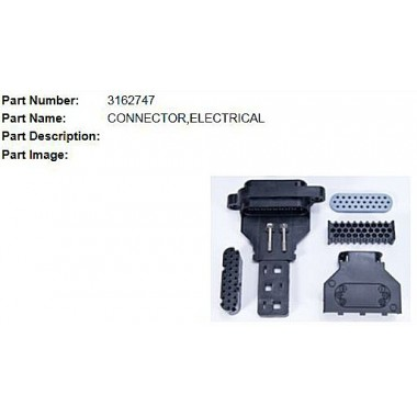 "3162747 OEM ""B"" Connector Kit for L10, M11 & N14 Celect ECM (Prior to 1996) 3084473, 3618046, 3619037 Engine Computers"