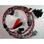 "Celect Bypass Wiring Harness with Duetz Connector, for OEM ""B"" Connector for L10, M11 & N14 Celect ECM (Prior to 1996) 3084473, 3618046, 3619037 Engine Computers"