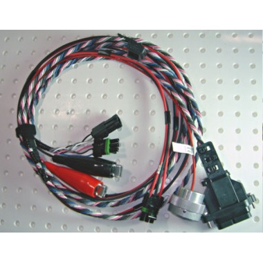 "CelectPlus Bypass Wiring Harness with Duetz Connector, for OEM ""B"" Connector for M11 & N14 CelectPlus ECM (1996 and Newer) 3096662, 3408300, 3408303 Engine Computers"