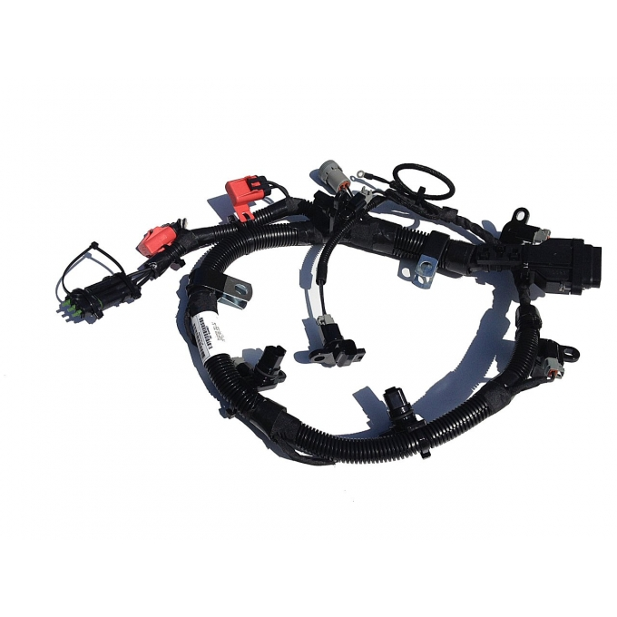 3076352 Cummins N14 Celect External Engine Injector Wiring Harness Cpl 1807 09 44 Uses Ecm 3084473